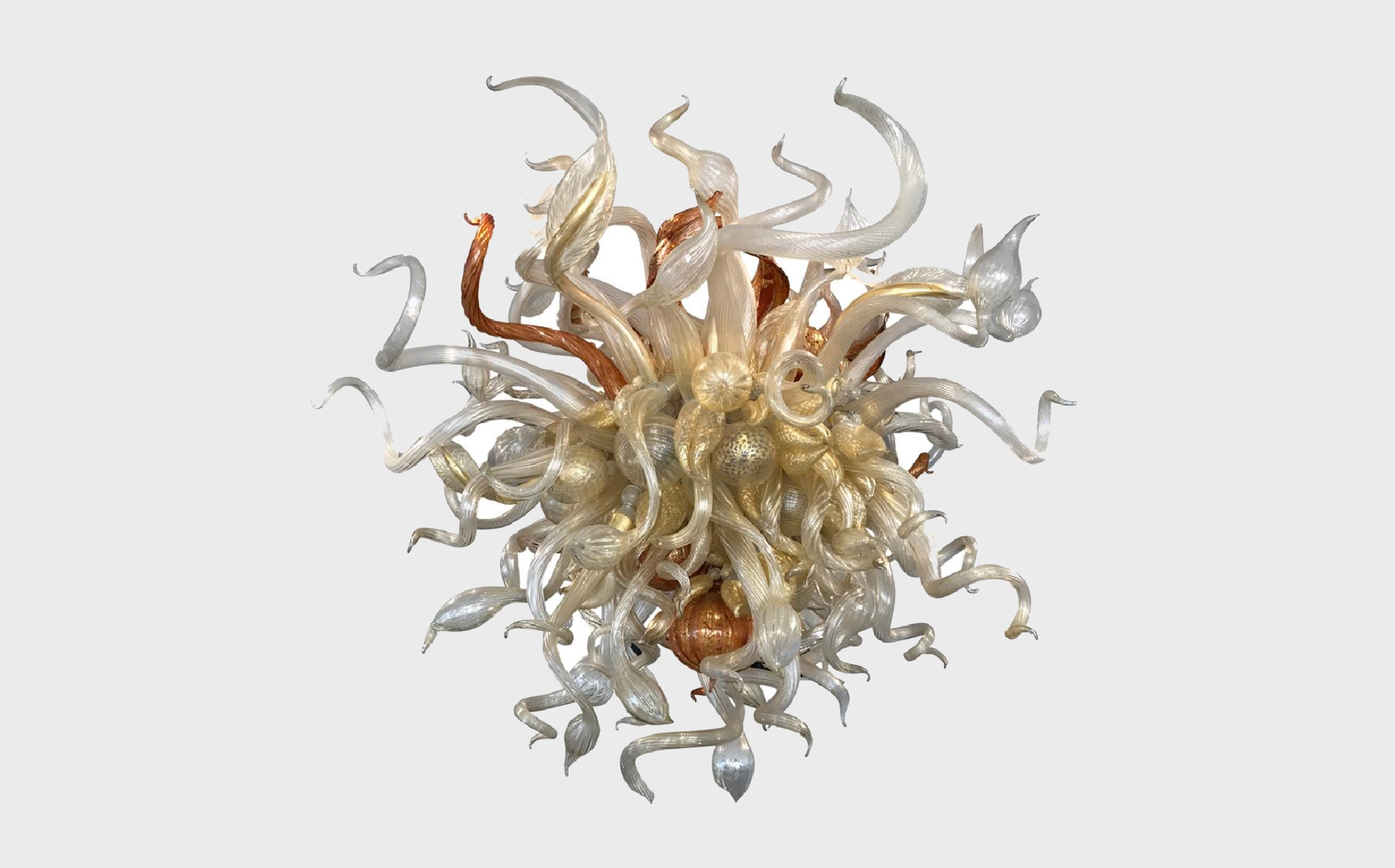 DALE CHIHULY: BLOWN GLASS CHANDELIER