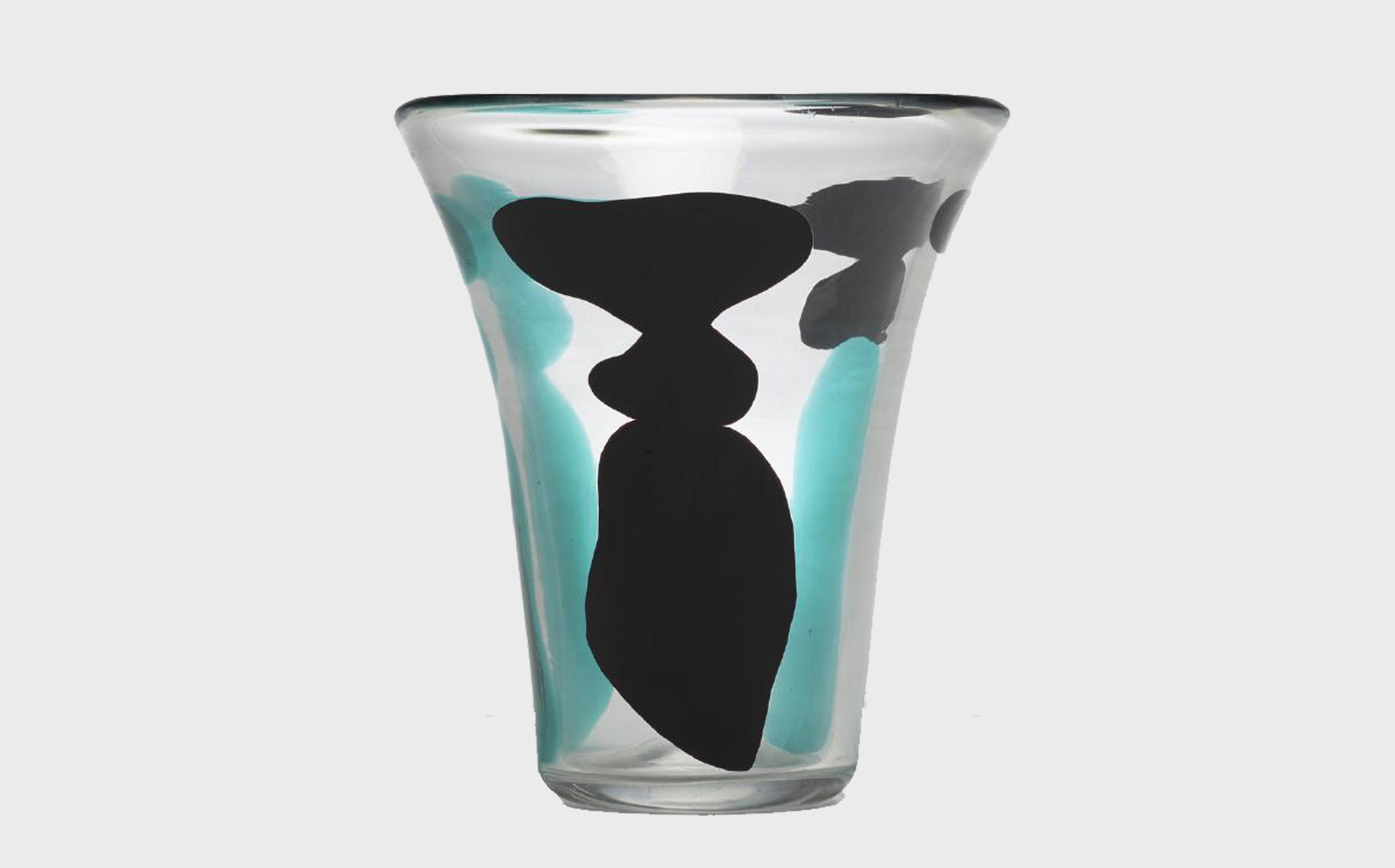 Fulvio Bianconi, Con Macchie vase, model 4325